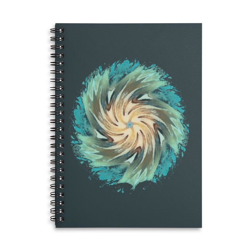 Progress Forward Accessories Lined Spiral Notebook by riverofchi's Artist Shop