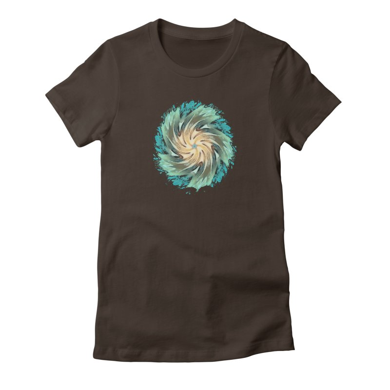 Progress Forward Women's Fitted T-Shirt by riverofchi's Artist Shop