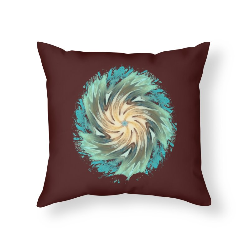 Progress Forward Home Throw Pillow by riverofchi's Artist Shop