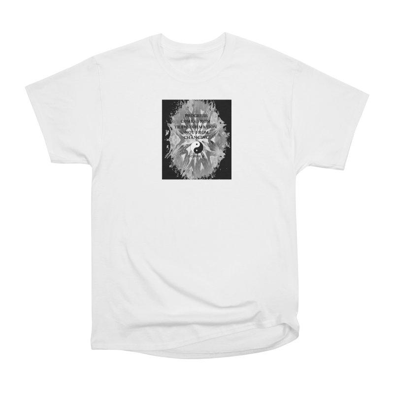 Progress Men's T-Shirt by riverofchi's Artist Shop