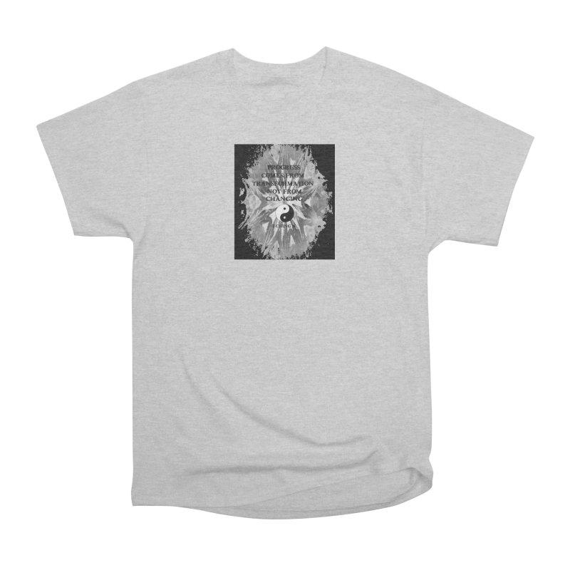 Progress Women's Heavyweight Unisex T-Shirt by riverofchi's Artist Shop