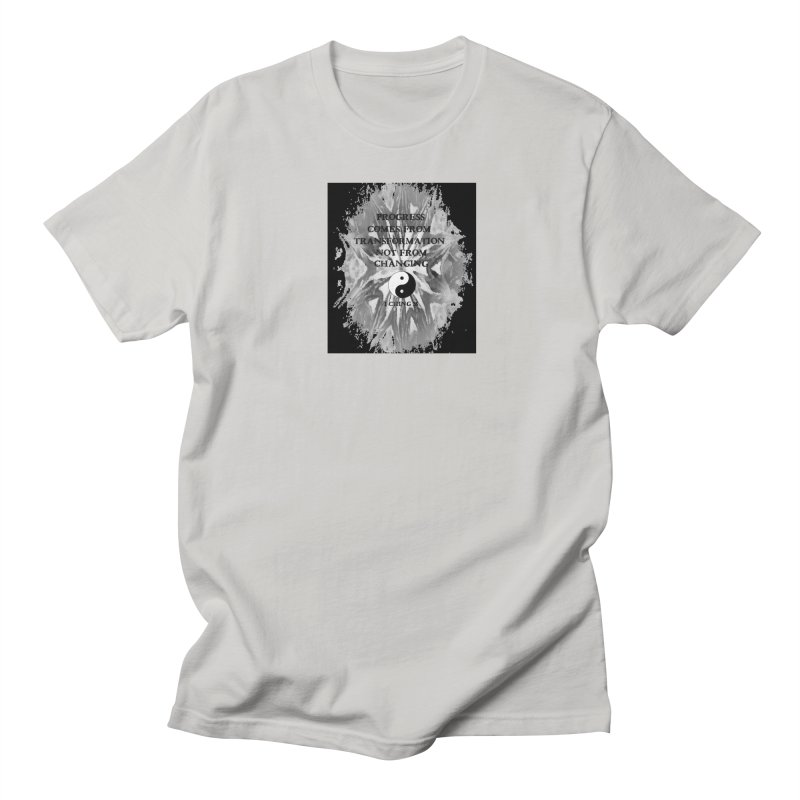 Progress Men's Regular T-Shirt by riverofchi's Artist Shop