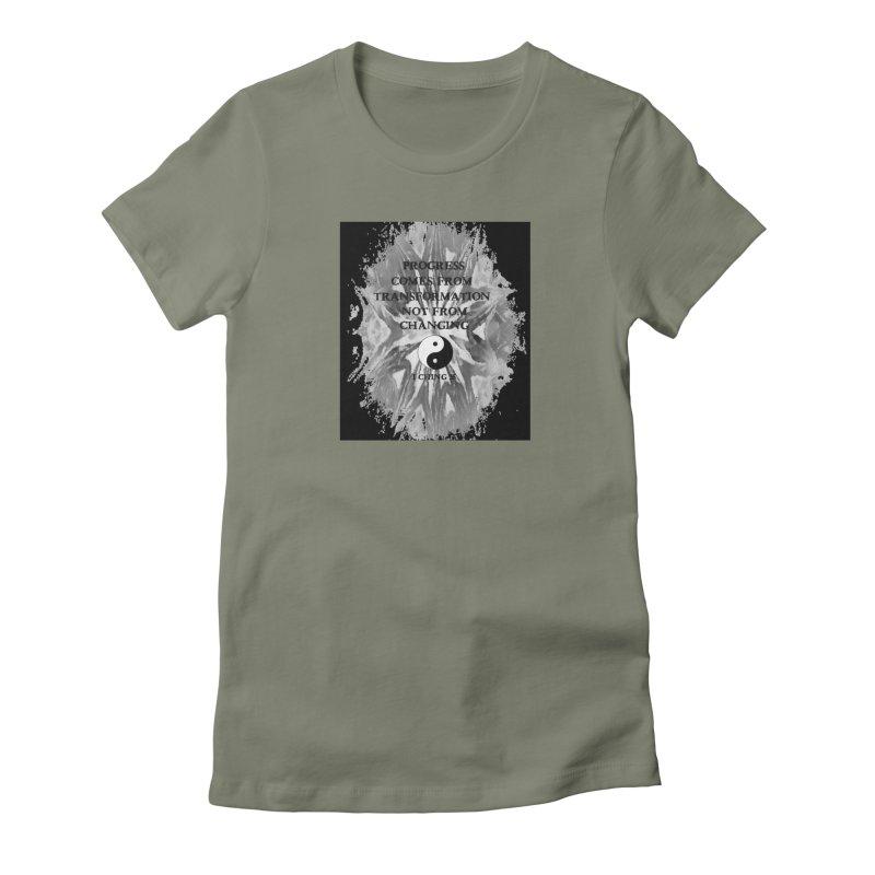 Progress Women's Fitted T-Shirt by riverofchi's Artist Shop