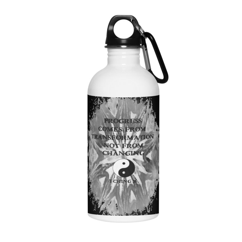 Progress Accessories Water Bottle by riverofchi's Artist Shop