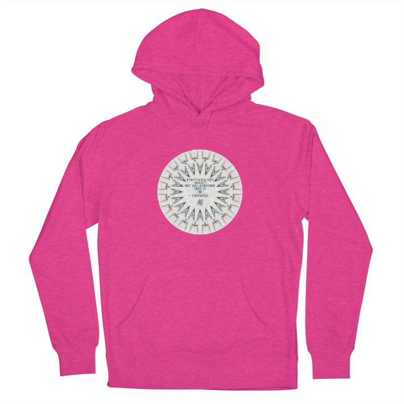 Everything has Beauty Women's French Terry Pullover Hoody by riverofchi's Artist Shop