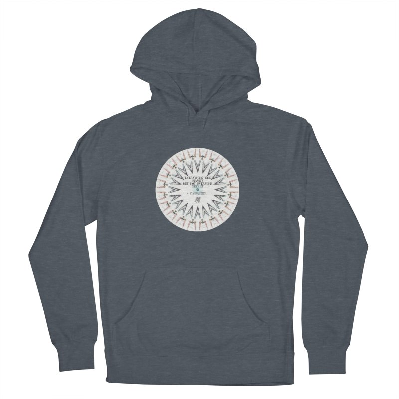 Everything has Beauty Men's French Terry Pullover Hoody by riverofchi's Artist Shop