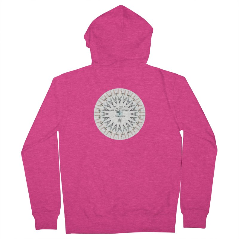 Everything has Beauty Women's French Terry Zip-Up Hoody by riverofchi's Artist Shop
