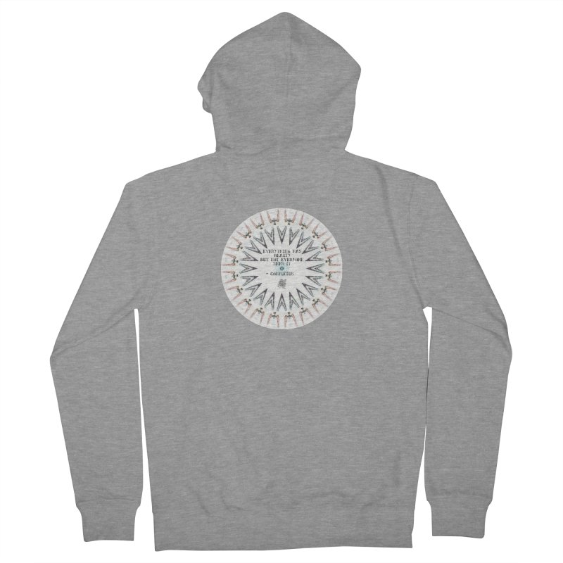 Everything has Beauty Men's French Terry Zip-Up Hoody by riverofchi's Artist Shop
