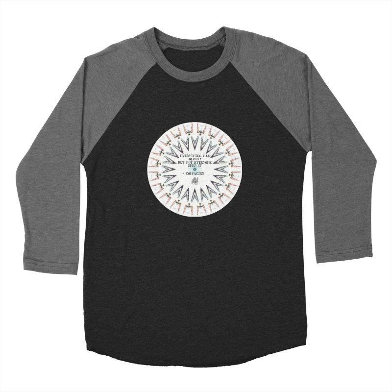 Everything has Beauty Women's Baseball Triblend Longsleeve T-Shirt by riverofchi's Artist Shop
