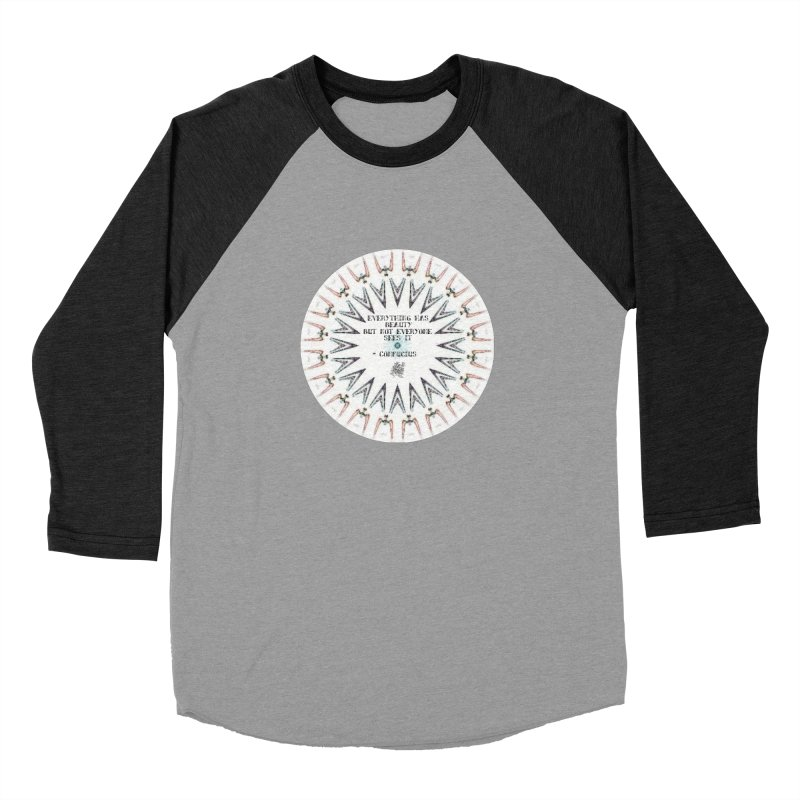 Everything has Beauty Women's Baseball Triblend T-Shirt by riverofchi's Artist Shop