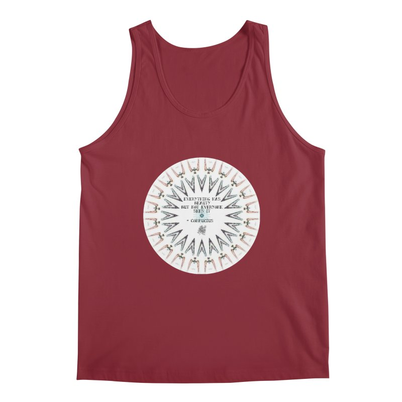 Everything has Beauty Men's Tank by riverofchi's Artist Shop
