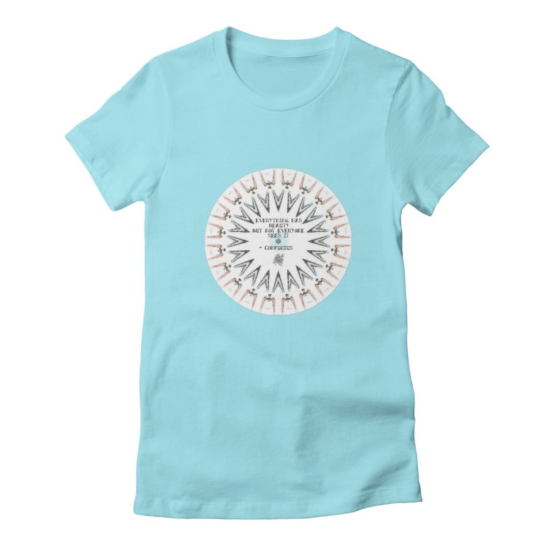 Everything has Beauty Women's Fitted T-Shirt by riverofchi's Artist Shop