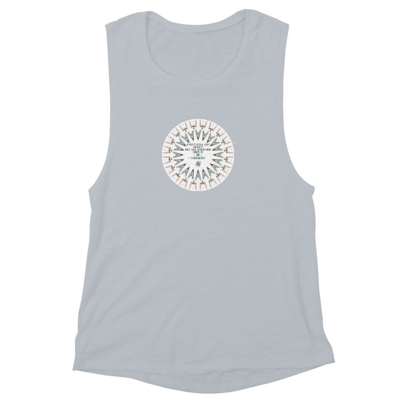 Everything has Beauty Women's Muscle Tank by riverofchi's Artist Shop
