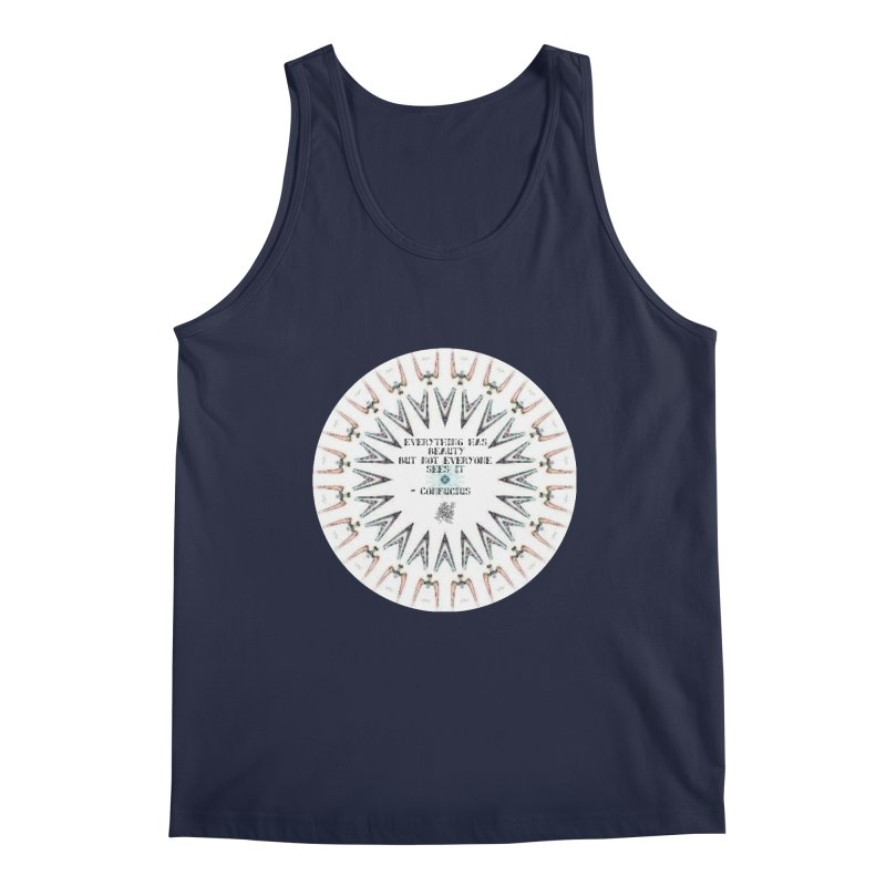 Everything has Beauty Men's Regular Tank by riverofchi's Artist Shop