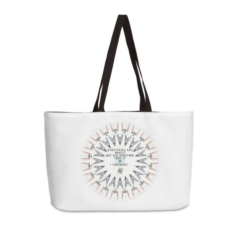 Everything has Beauty Accessories Weekender Bag Bag by riverofchi's Artist Shop