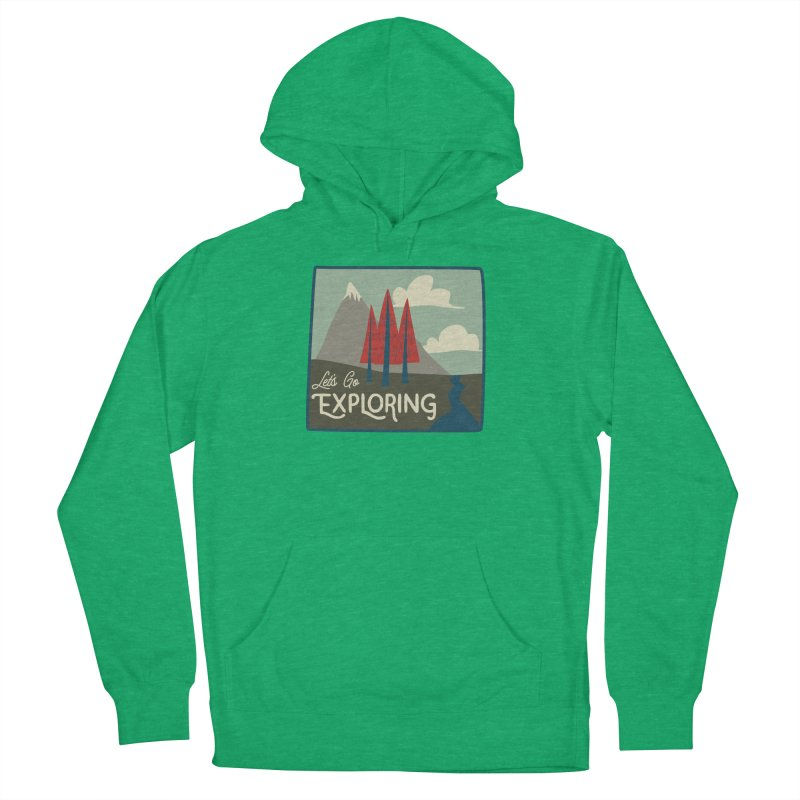 Let's Go Exploring Women's French Terry Pullover Hoody by River Trail Supply Company