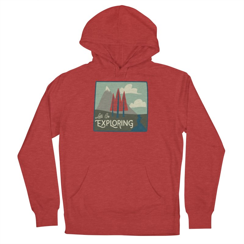 Let's Go Exploring Women's Pullover Hoody by River Trail Supply Company