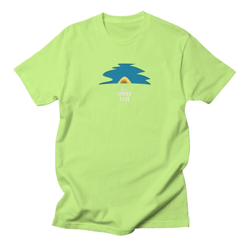 Paddle Time Men's Regular T-Shirt by River Trail Supply Company