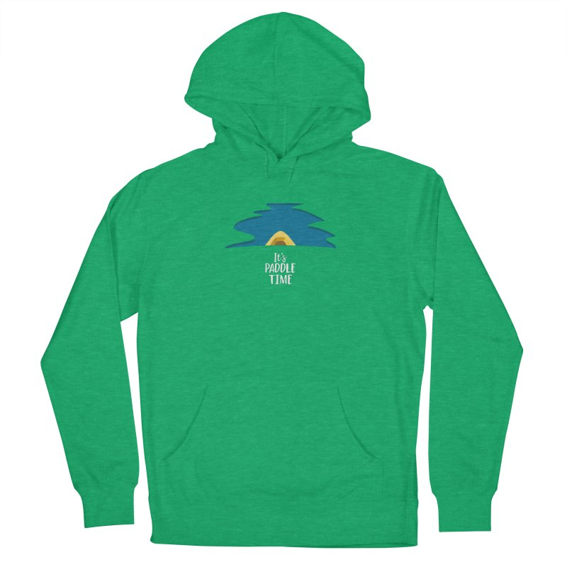Paddle Time Men's French Terry Pullover Hoody by River Trail Supply Company