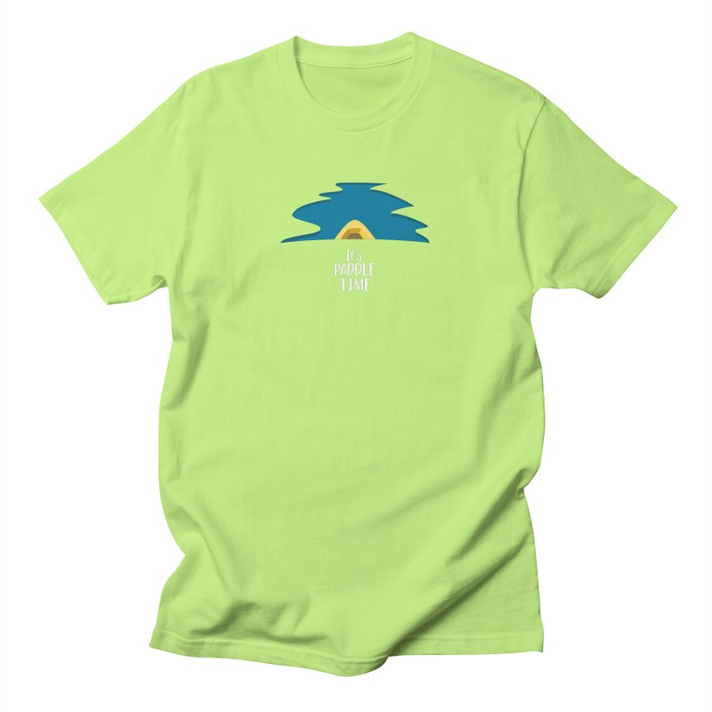 Paddle Time Men's T-Shirt by River Trail Supply Company
