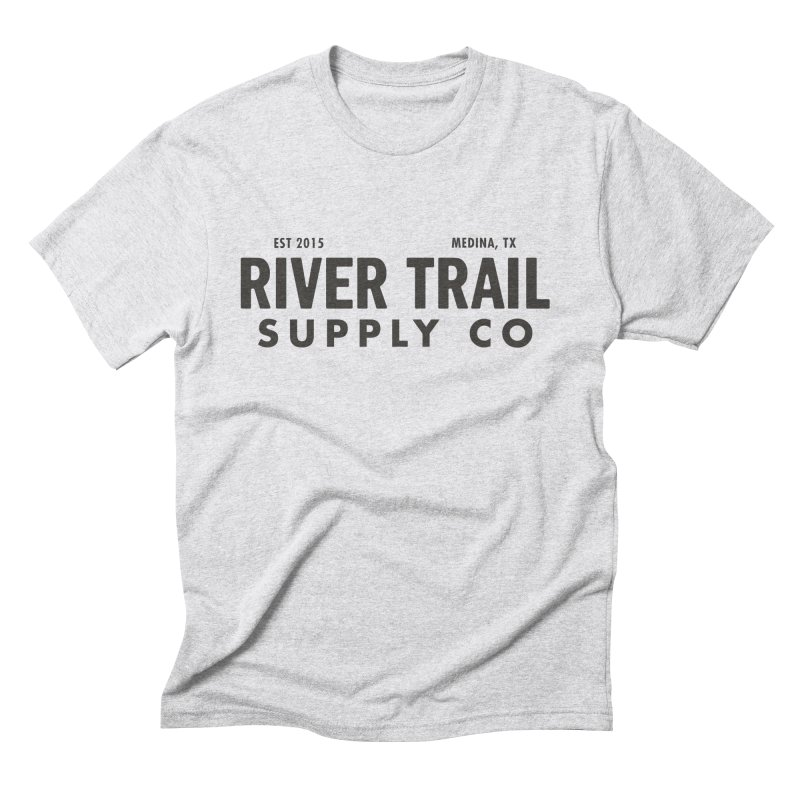 River Trail Supply Co Logo Men's T-Shirt by River Trail Supply Company