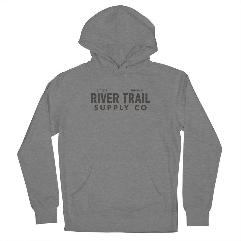 River Trail Supply Co Logo Men's Pullover Hoody by River Trail Supply Company