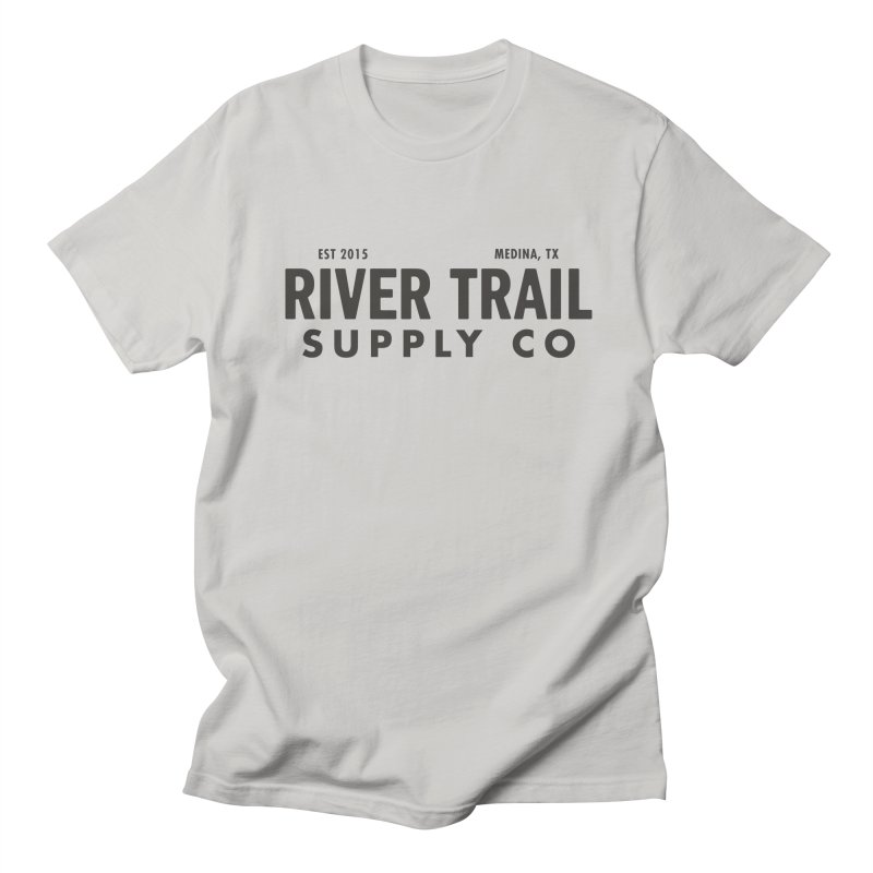 River Trail Supply Co Logo Men's Regular T-Shirt by River Trail Supply Company