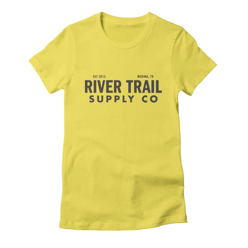 River Trail Supply Co Logo Women's T-Shirt by River Trail Supply Company