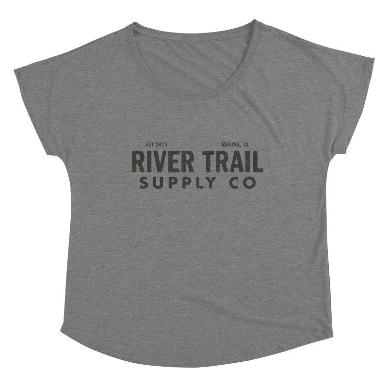 River Trail Supply Co Logo Women's Scoop Neck by River Trail Supply Company