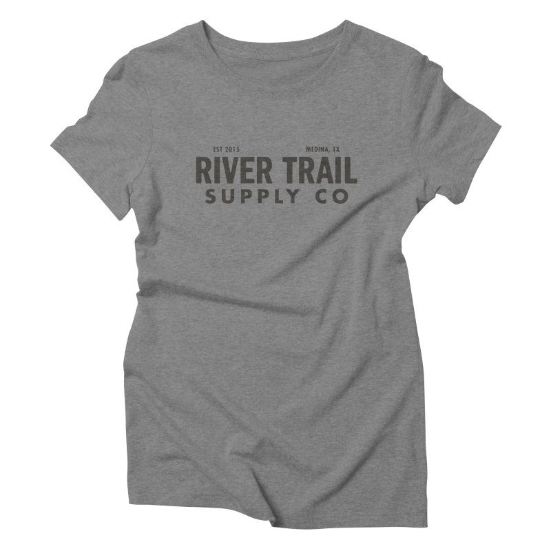River Trail Supply Co Logo Women's Triblend T-Shirt by River Trail Supply Company