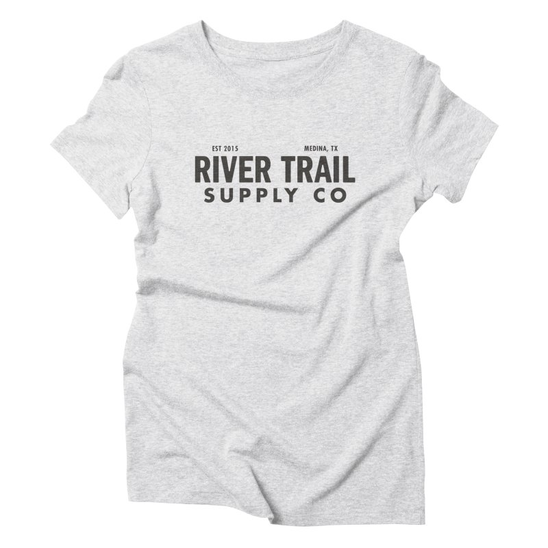 River Trail Supply Co Logo Women's T-Shirt by River Trail Supply Company