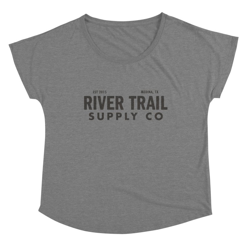 River Trail Supply Co Logo Women's Scoop Neck by River Trail Supply Company