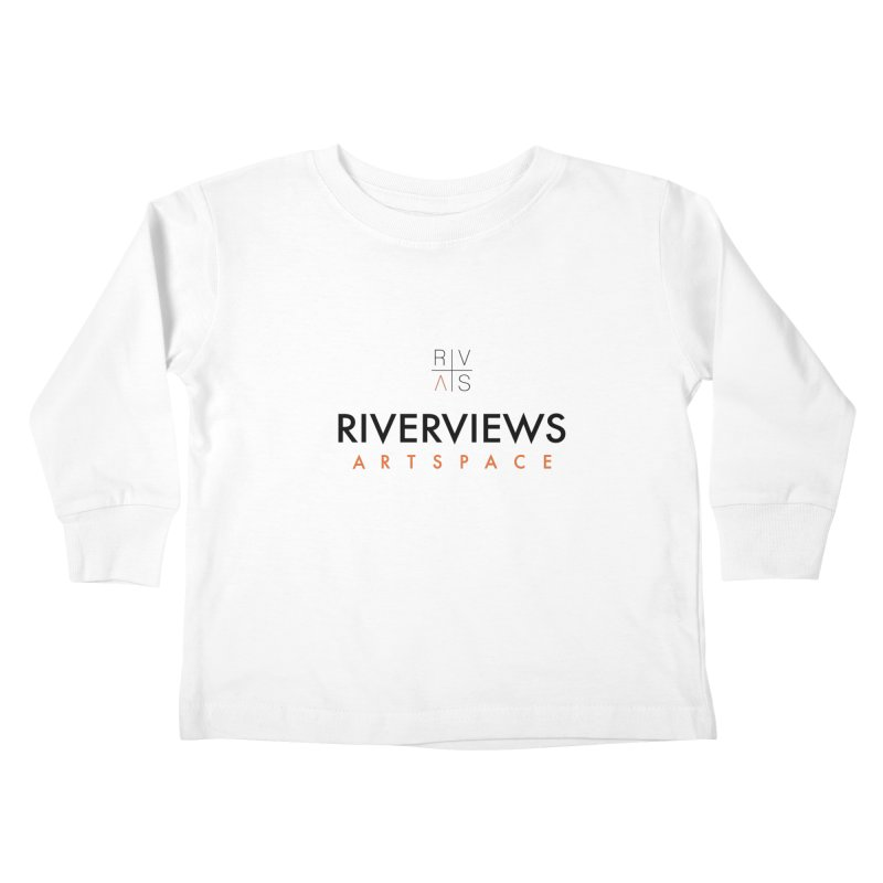 RVAS Logo Kids Toddler Longsleeve T-Shirt by Riverviews Artspace Shop