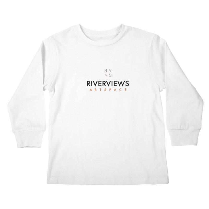 RVAS Logo Kids Longsleeve T-Shirt by Riverviews Artspace Shop