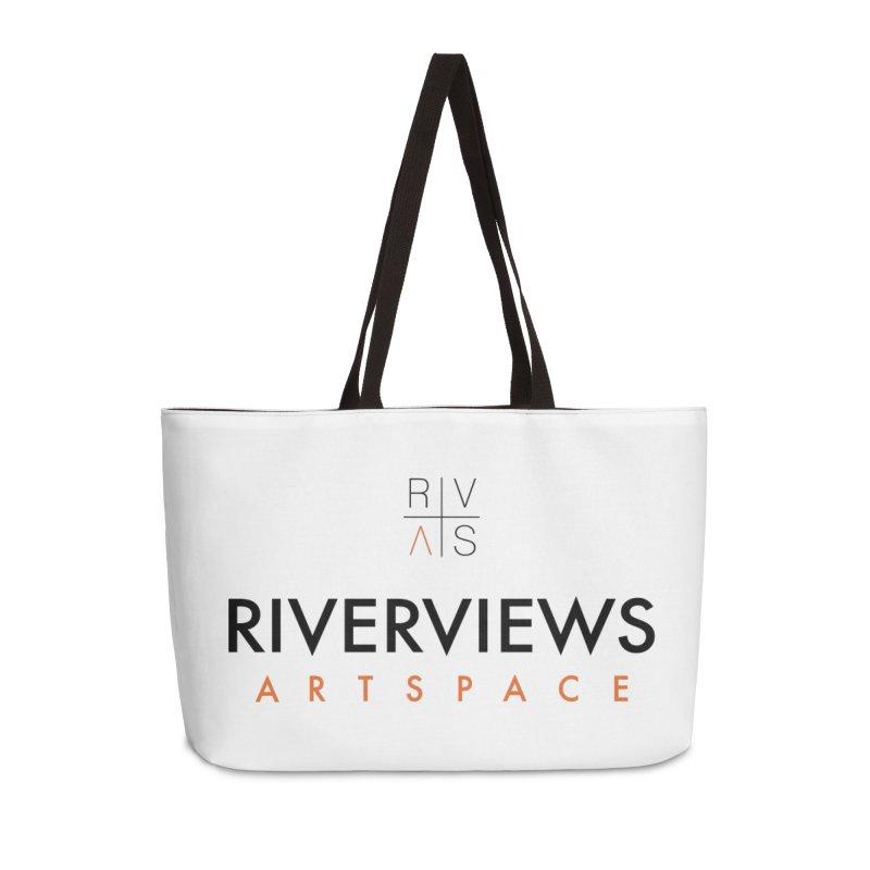 RVAS Logo Accessories Weekender Bag Bag by Riverviews Artspace Shop