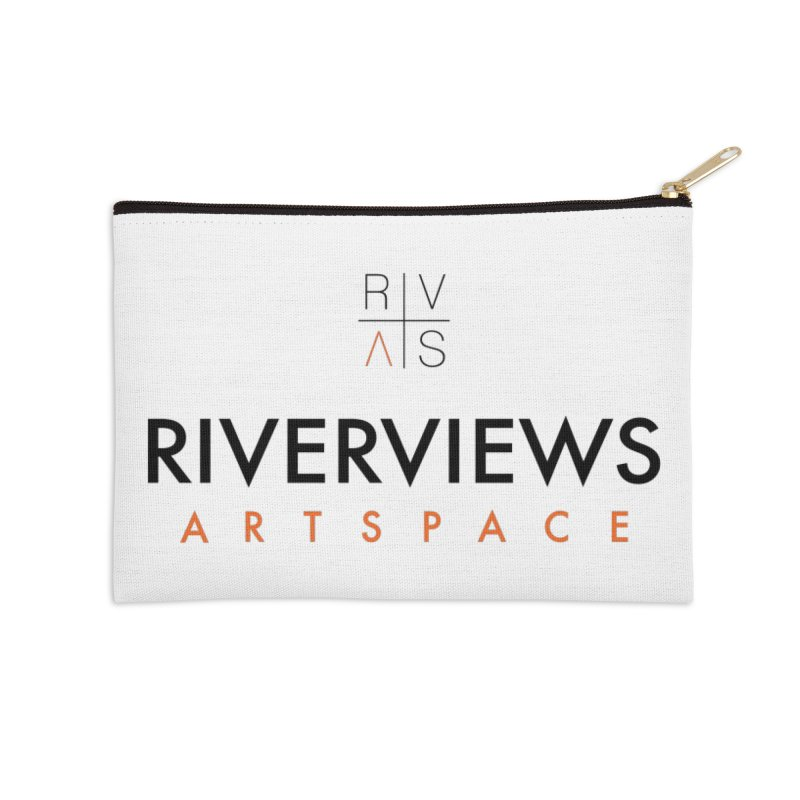 RVAS Logo Accessories Zip Pouch by Riverviews Artspace Shop
