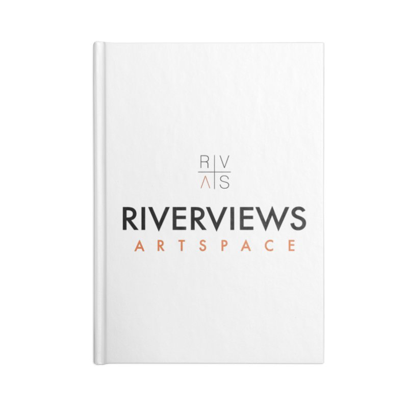 RVAS Logo Accessories Lined Journal Notebook by Riverviews Artspace Shop