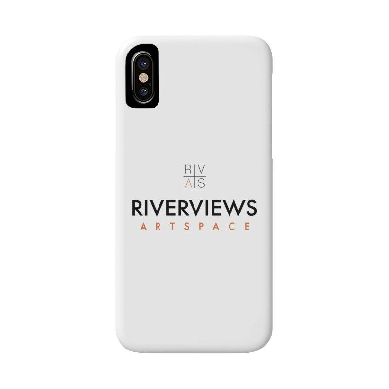 RVAS Logo Accessories Phone Case by Riverviews Artspace Shop