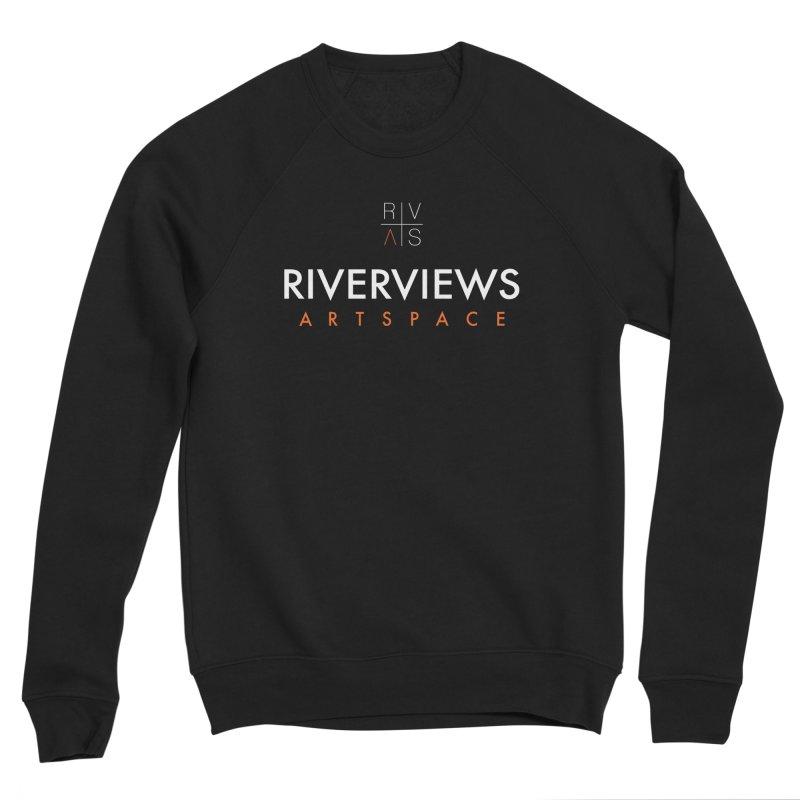 RVAS Logo - White Women's Sponge Fleece Sweatshirt by Riverviews Artspace Shop