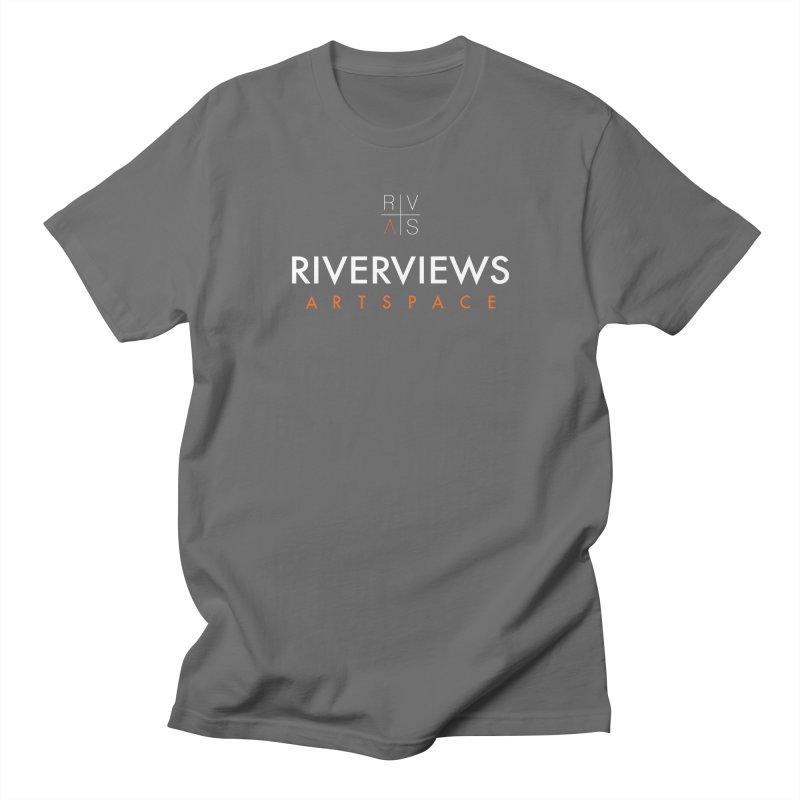 RVAS Logo - White Men's T-Shirt by Riverviews Artspace Shop