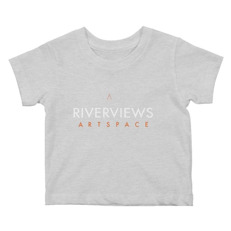 RVAS Logo - White Kids Baby T-Shirt by Riverviews Artspace Shop