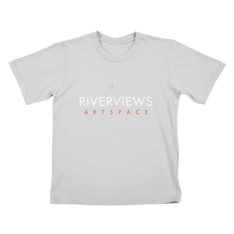 RVAS Logo - White Kids T-Shirt by Riverviews Artspace Shop