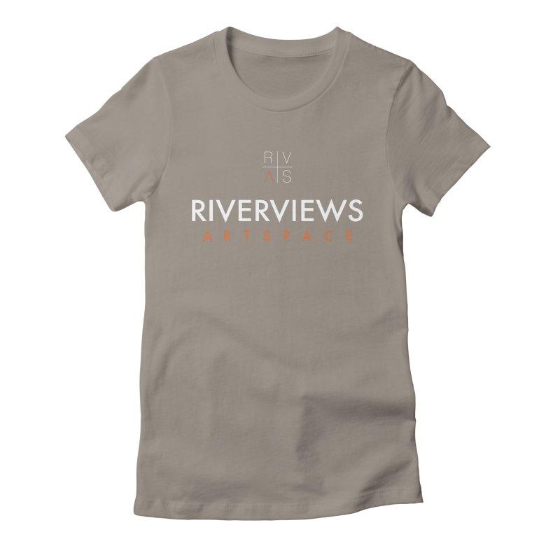 RVAS Logo - White Women's T-Shirt by Riverviews Artspace Shop