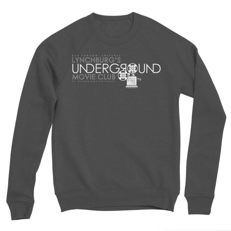 LUMC Logo Men's Sponge Fleece Sweatshirt by Riverviews Artspace Shop