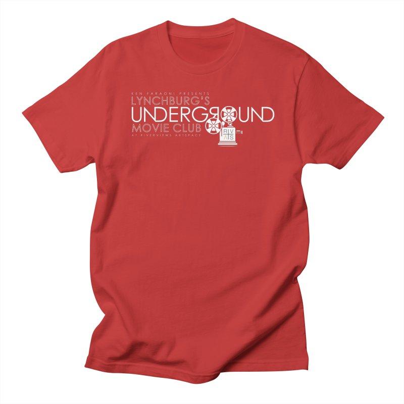 LUMC Logo Men's Regular T-Shirt by Riverviews Artspace Shop