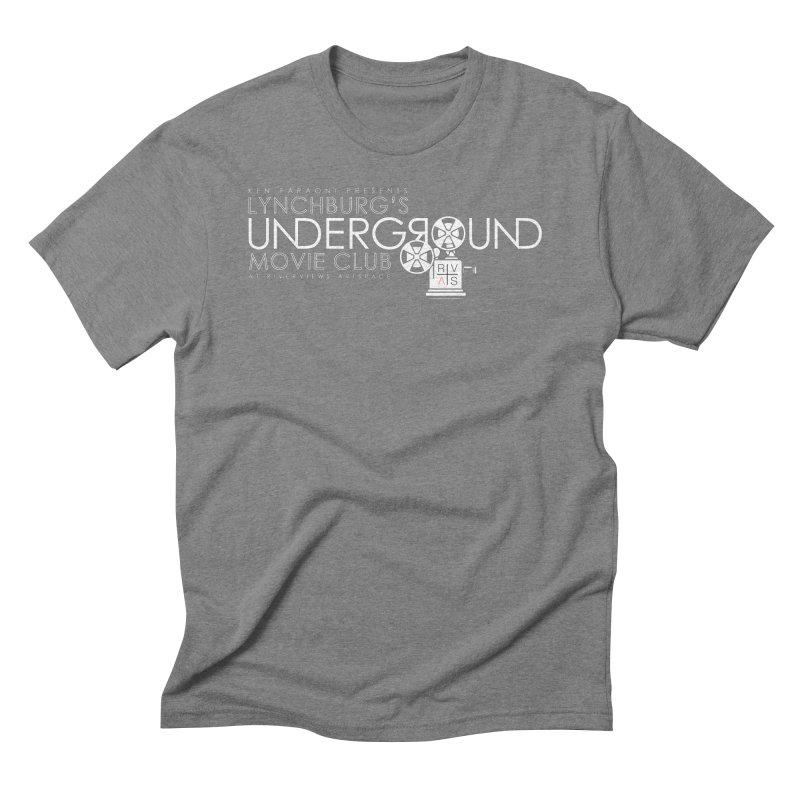 LUMC Logo Men's Triblend T-Shirt by Riverviews Artspace Shop