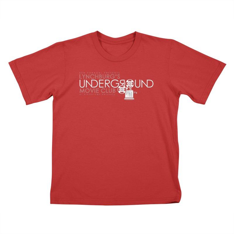 LUMC Logo Kids T-Shirt by Riverviews Artspace Shop