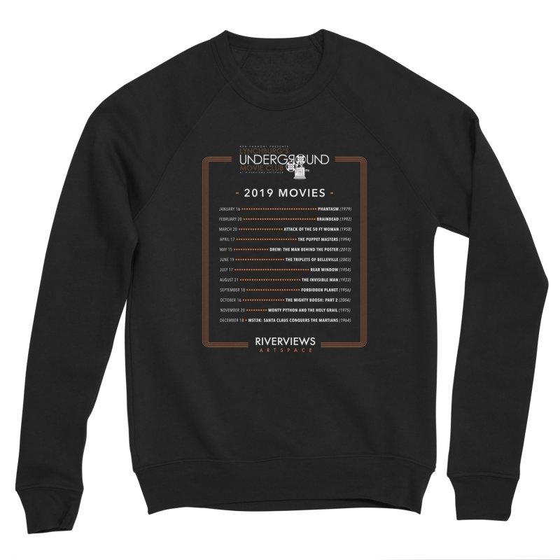 LUMC 2019 Movies Men's Sponge Fleece Sweatshirt by Riverviews Artspace Shop