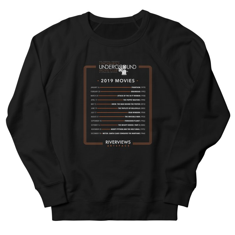 LUMC 2019 Movies Men's French Terry Sweatshirt by Riverviews Artspace Shop