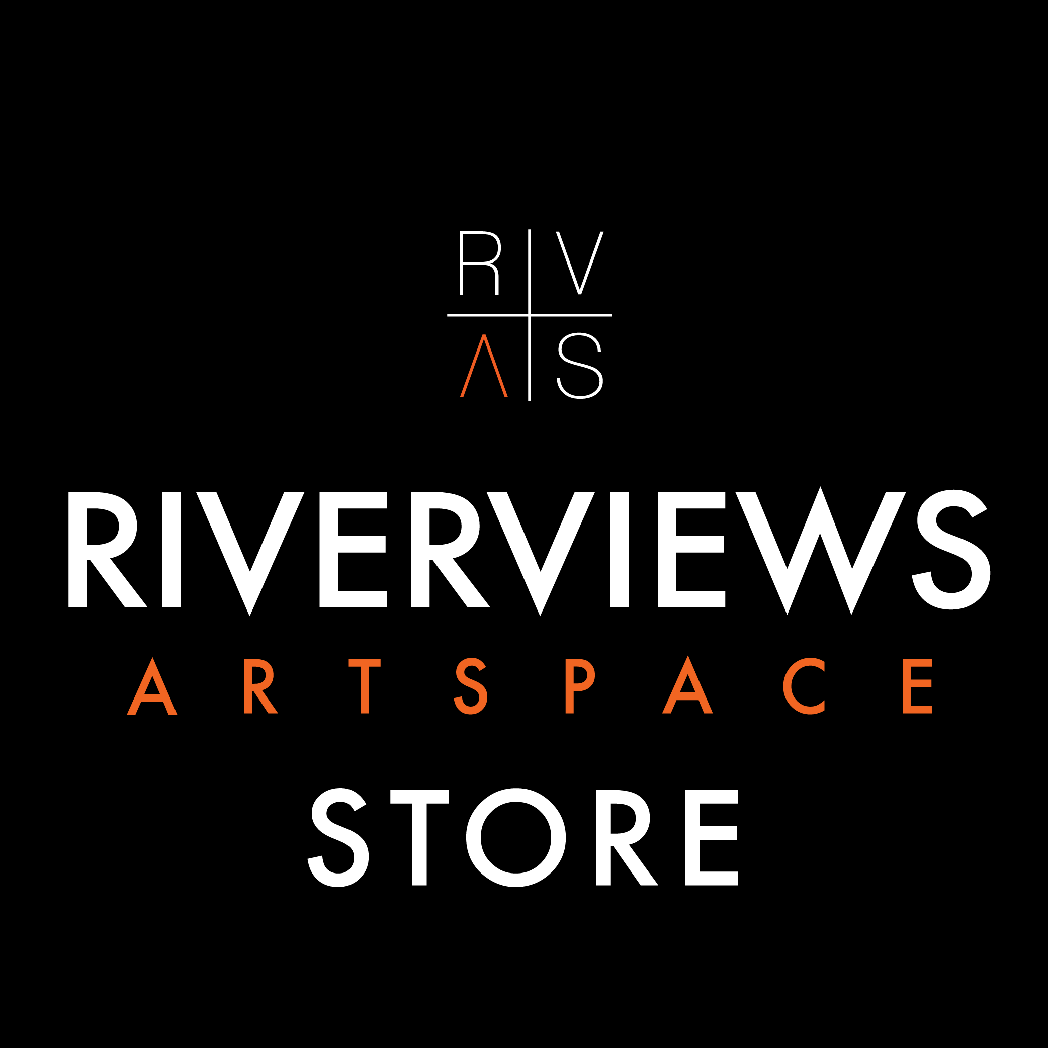 Riverviews Artspace Shop Logo